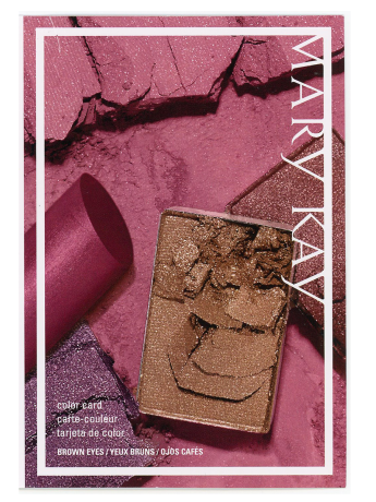 Color Cards Brown Eyes Mary Kay