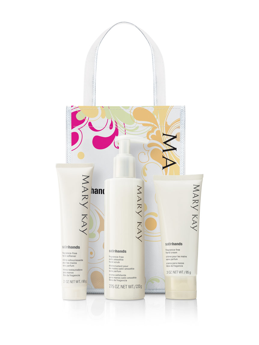 Fragrance Free Satin Hands Pampering Set Mary Kay