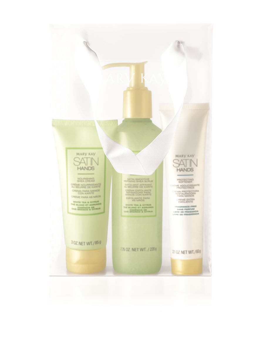 White Tea Amp Citrus Satin Hands 174 Pampering Set Mary Kay