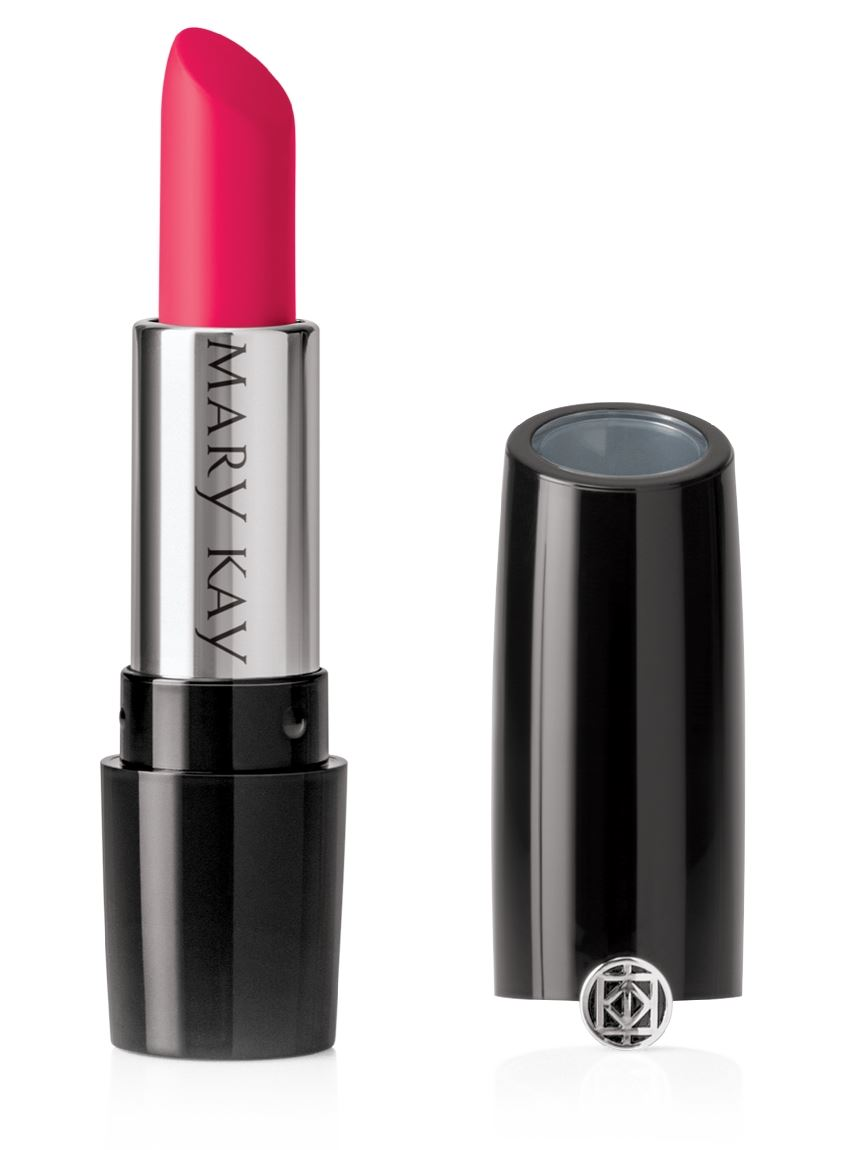 mary kay gel semi matte lipstick powerful pink. Black Bedroom Furniture Sets. Home Design Ideas