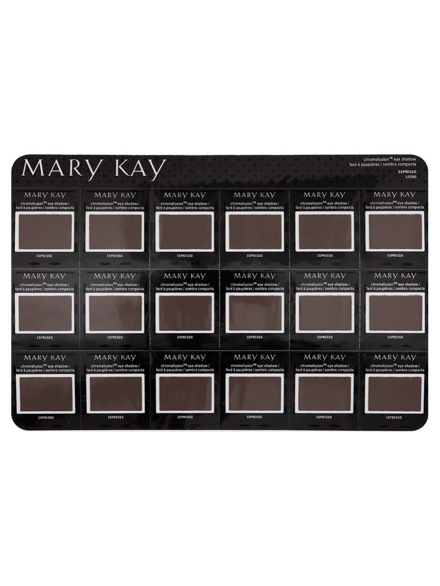 Mary Kay Chromafusion Eye Shadow Sample Espresso Mary Kay