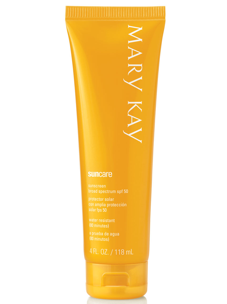 Mary Kay® Sun Care Sunscreen Broad Spectrum SPF 50*.
