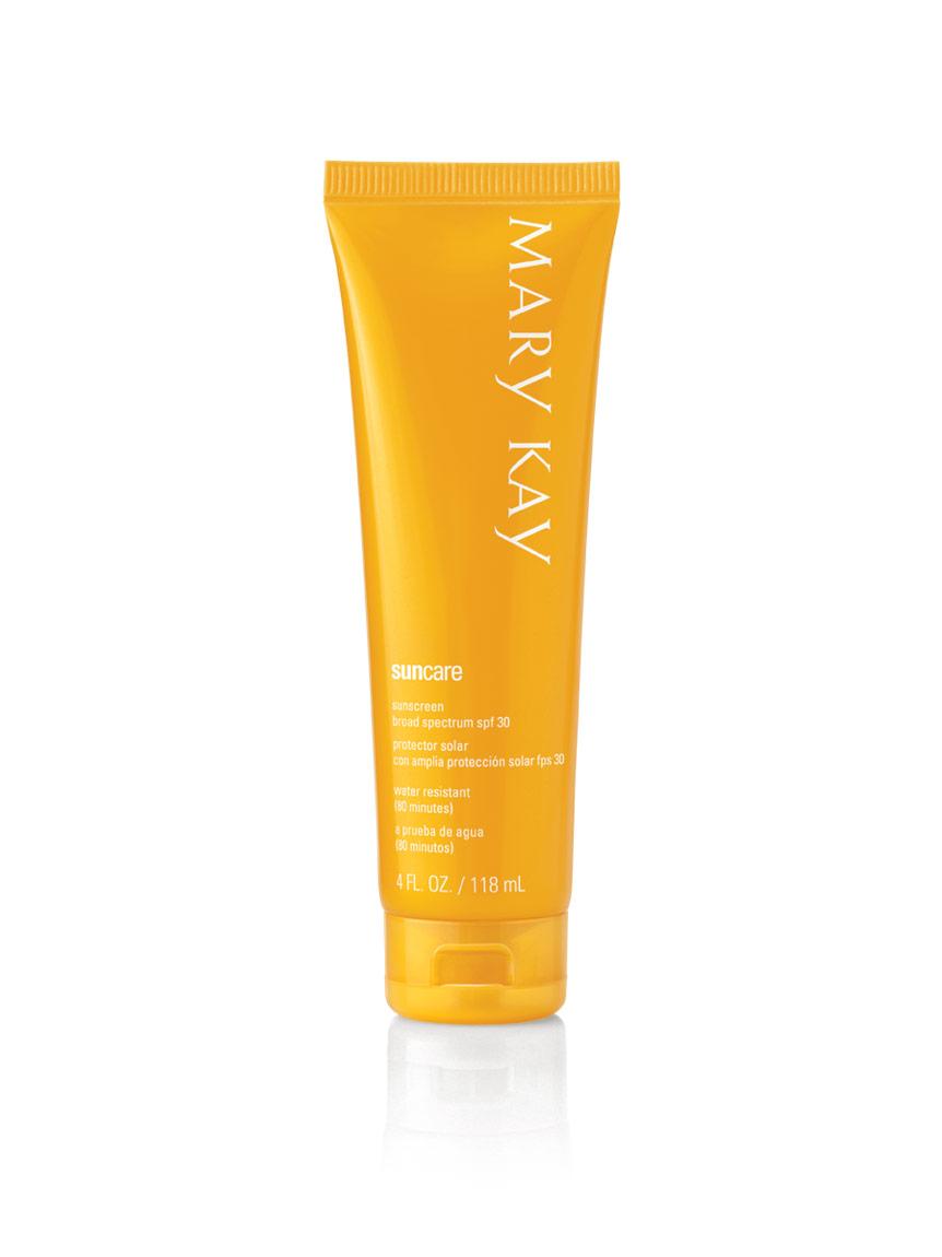 Mary Kay® Sun Care Sunscreen Broad Spectrum SPF 30* on mary kay wish list form, mary kay fundraiser form, mary kay printable receipt form, mary kay inventory tax form,