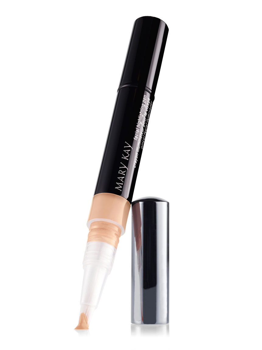 Facial highlighting pen